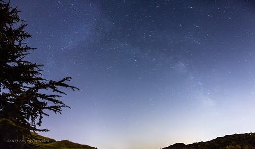 Milky Way over Pinole Valley