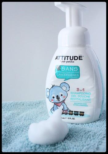 ATTITUDE tout-petits shampoing revitalisant