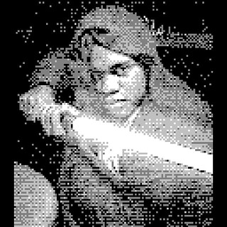 #starwars #gameboycamera #episodevii #starwarsepisodevii #theforceawakens #theforce #nintendo #ninstagram #retrocollective #retro #jedi #jediknight #knightsoftheoldrepublic #theforce #sith #fett #macewindu #lightstaber #nerd #battle #nyc #videogames #8bit