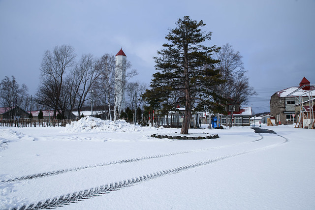 雪地、好美