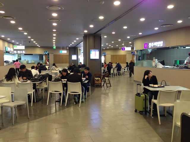 Seoul Station food court eateries