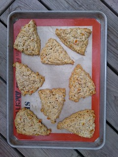 Candied Orange-Oat Scones