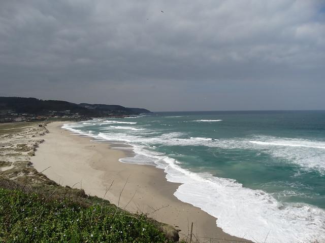 Playa de Barrañán en Arteixo