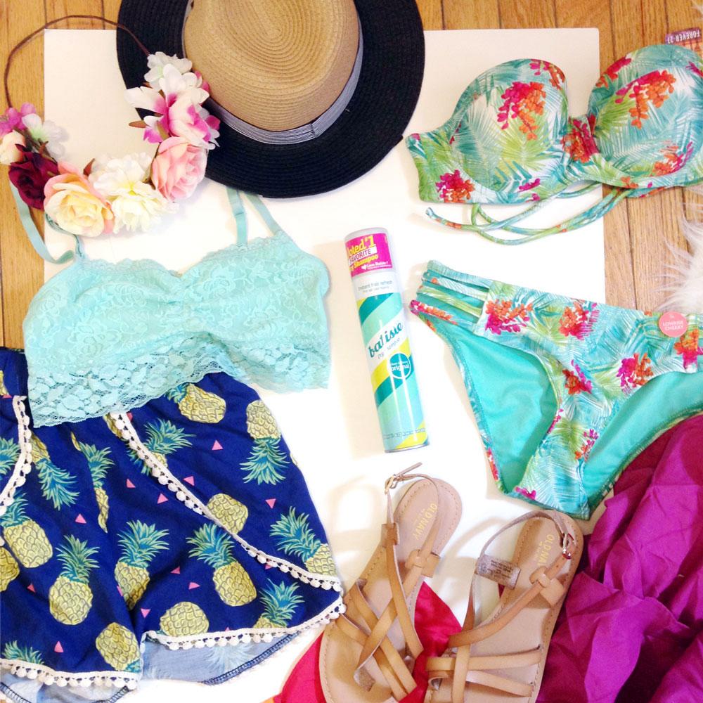 Spring Break packing essentials - Budget buys