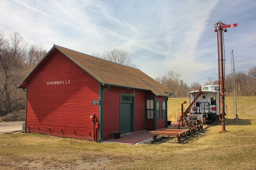 Burlington Railroad Depot - Brownville, NE