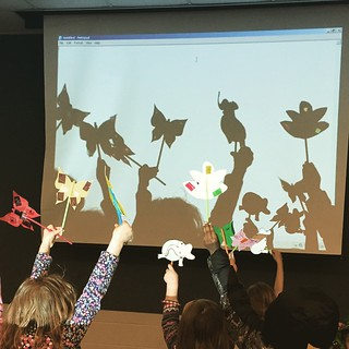 Shadow puppets! #puppets #librarian