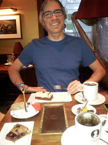 Teatime at Gerlóczy