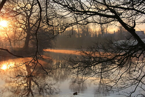 morning winter mist sunrise river landscape dawn rnbwalesdee deeecclestoneferry