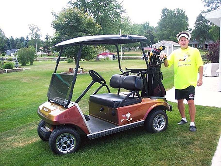 screamin golf cart