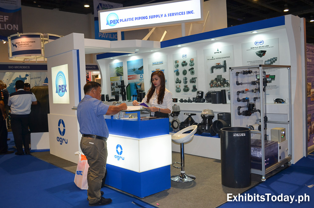 Apex Plastic Piping Supply & Services Inc Exhibit Booth