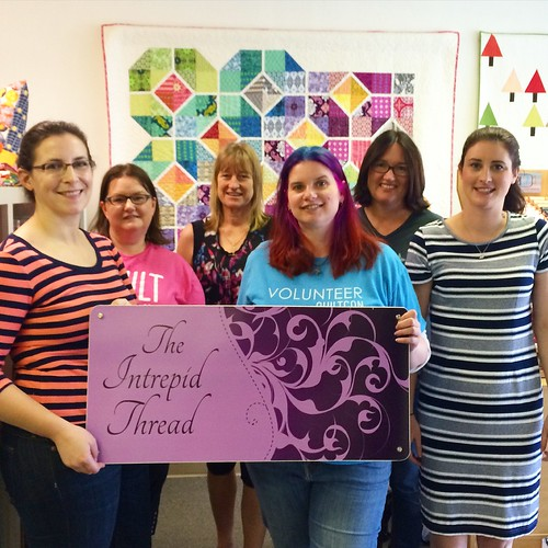 With Amanda from Everyday Fray, Anne (ihaveafabricproblem), Deb from Deb's Doodling, Anne from Play Crafts and Rachel from Wooden Spoon Quilts