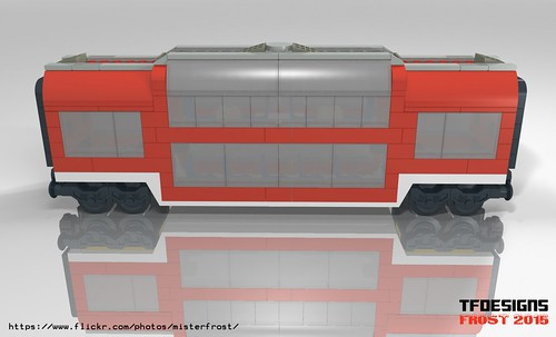 Red Club Car (Matches 7938) (LDD Building Instructions)  by  MR FROST