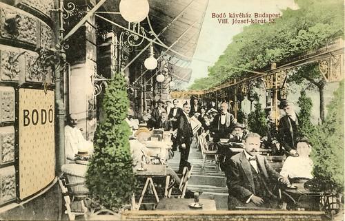 A Budapest Coffee House, 1913