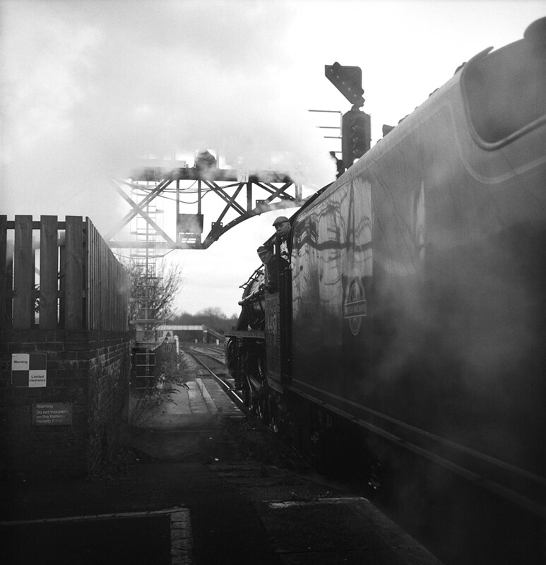 Steam Train at Oxford Central