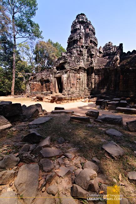 Ta Som Gopura in Siem Reap