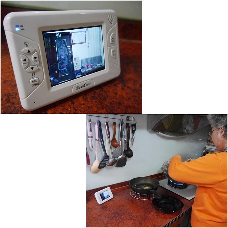 【SecuFirst】BB-A011 数位无线家居影音监视器