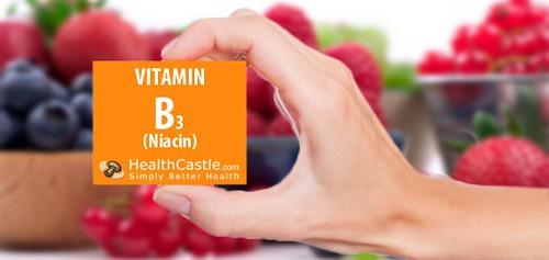 vitamin b3 tốt cho túi mật