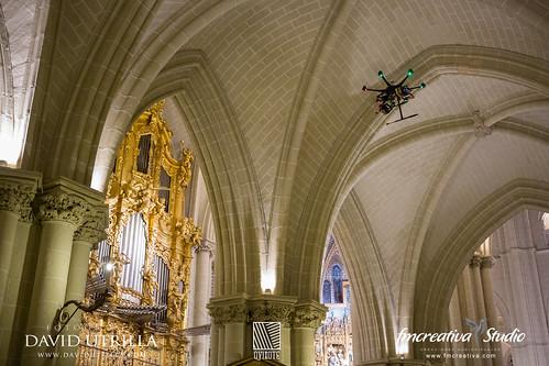 Drone Catedral Toledo