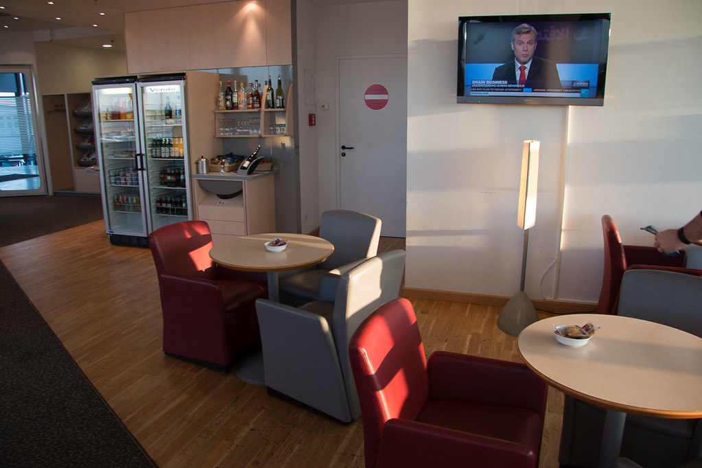 Air Berlin Lounge at TXL - Berlin Tegel Airport | Shared with Air France Lounge