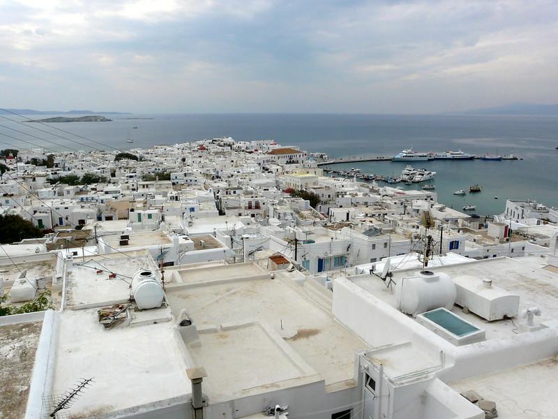 Chora, capitale de Mykonos