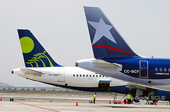 LAN y Sky Airline tails (RD)