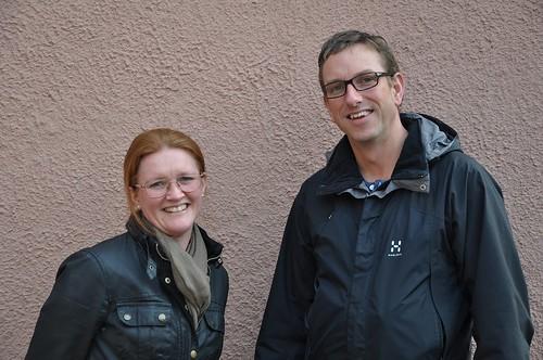Sara Ytell och Niclas Björnén