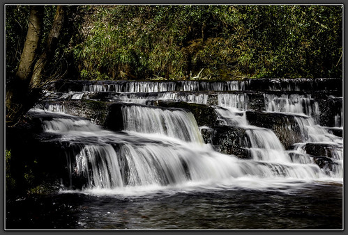 longexposure water sheffield waterfalls cascades rivelinvalley southyorkshire