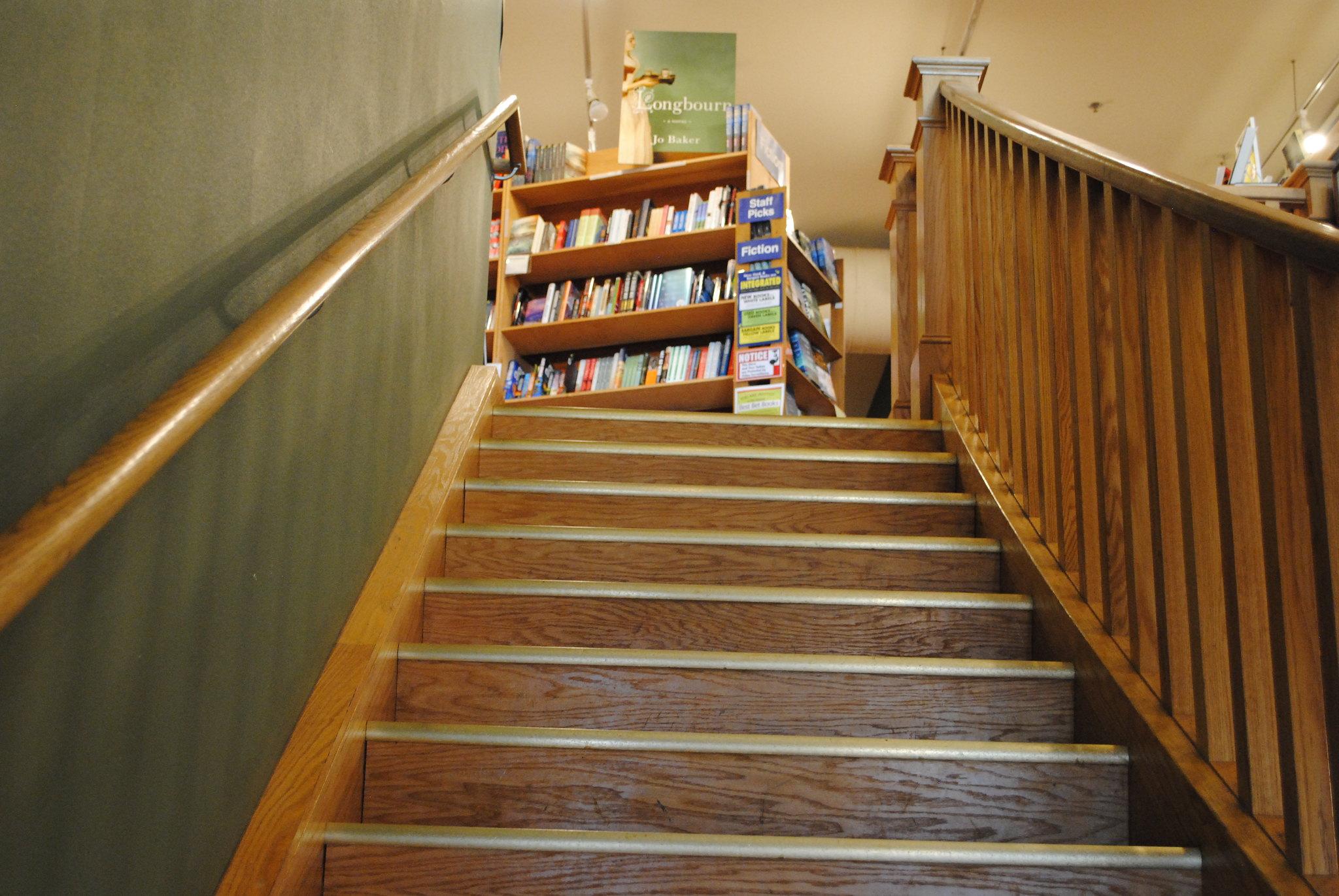 Village Books Staircase
