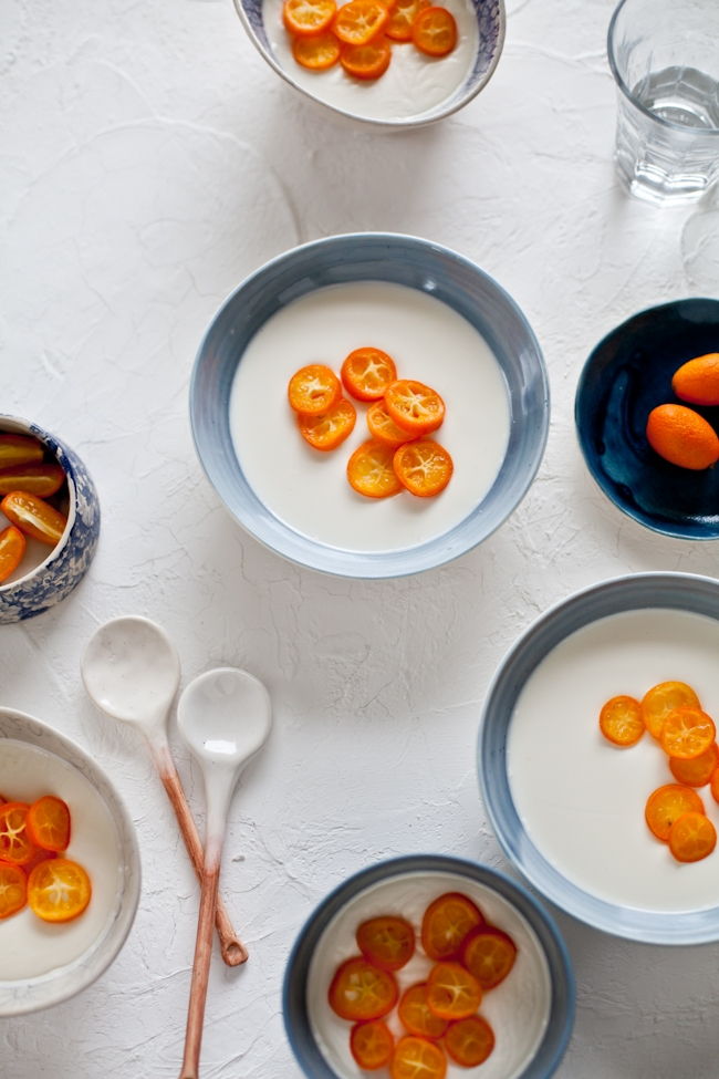 Kumquat Panna Cotta