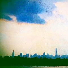 #NewYorkCity #Skyline Viewed From #Queens #Spring #2015