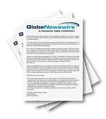 Globe Newswire Thumb