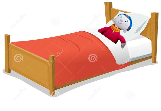 noddy on bed