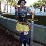 Warrior Snow White Cosplay