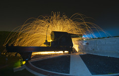 How not to light a cannon
