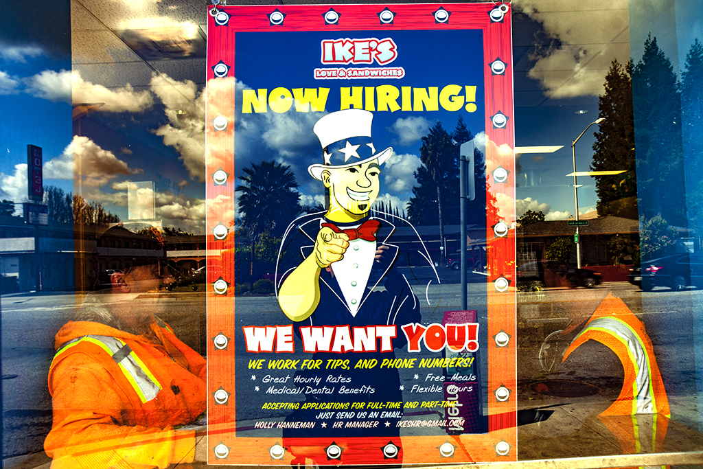 Help-wanted-sign-at-IKE'S--Santa-Clara