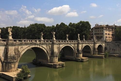 bridge italy rome roma rio river ponte itália santangelo