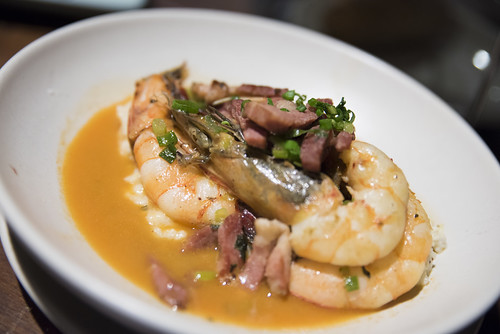Shrimp and Grits, Hog Island Oyster Co., Ferry Building Marketplace, San Francisco