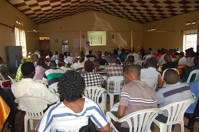 Pig farmers training in Matugga_Kees Van der Braak
