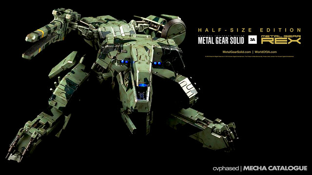 threeA Metal Gear REX [Half-Size Edition]