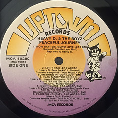 HEAVY D & THE BOYZ:PEACEFUL JOURNEY(LABEL SIDE-A)