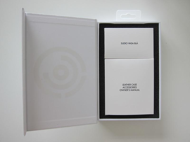 Sudio Vasa Bla - White - Box Open