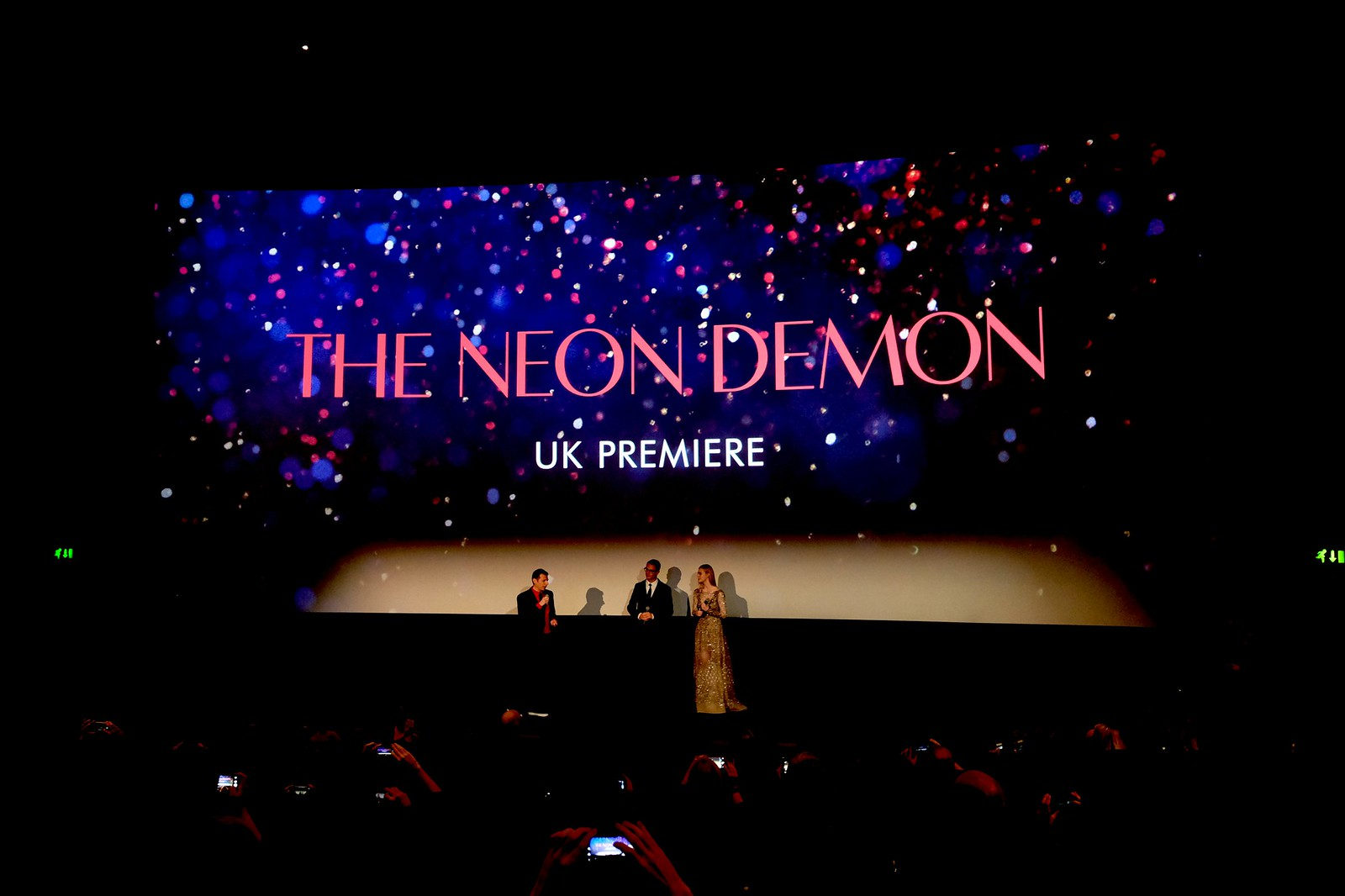 The Neon Demon UK Premiere