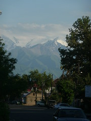wiew to mountains