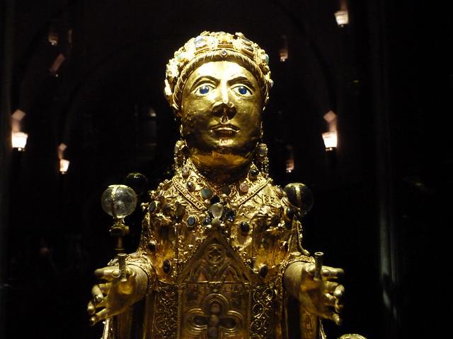 Reliquia de Sainte Foy (Santa Fe, Conques)