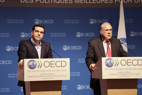 Image result for gurria tsipras