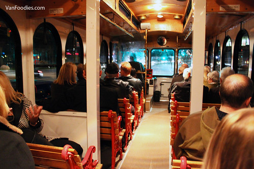 Inside our trolley