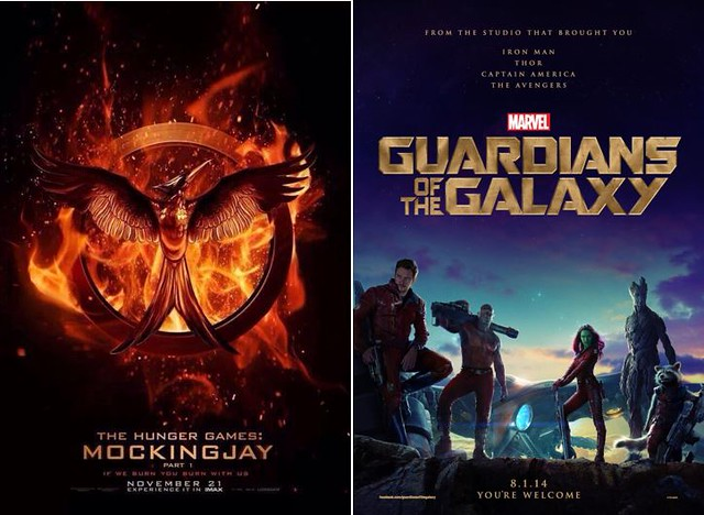 5 Mockingjay & Guardian of the Galaxy