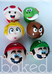 Mario and Friends Cupcakes