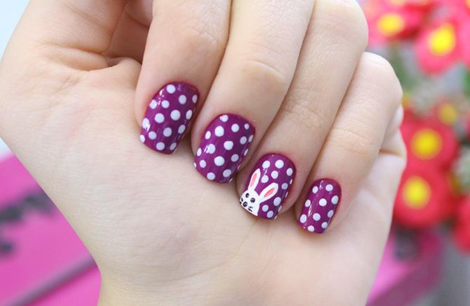 01-unhas decoradas para páscoa nail art Easter sempre glamour jana taffarel