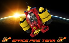 Extinguisher Pod - Space Fire Team